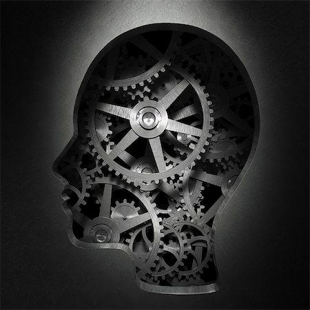 Consciousness, conceptual computer artwork. Stock Photo - Premium Royalty-Free, Code: 679-06755905
