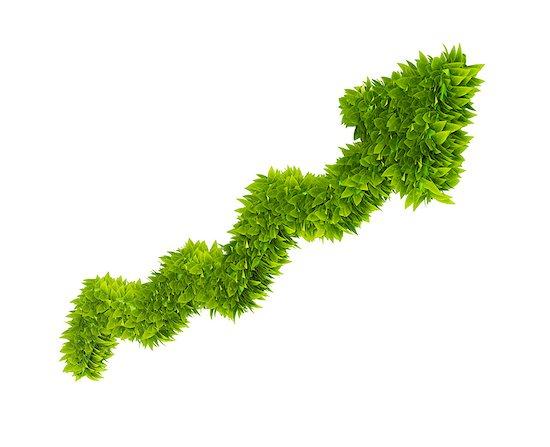 Green economy, conceptual computer artwork. Stock Photo - Premium Royalty-Free, Image code: 679-06755945