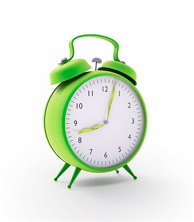 Alarm clock, computer artwork. Stock Photo - Premium Royalty-Free, Code: 679-06755967