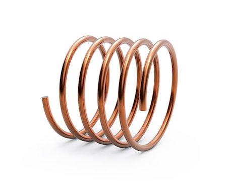 spiral - Metal spring, computer artwork. Stock Photo - Premium Royalty-Free, Code: 679-06779472