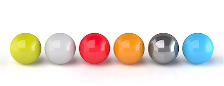 Spheres, computer artwork. Stock Photo - Premium Royalty-Free, Code: 679-06780878