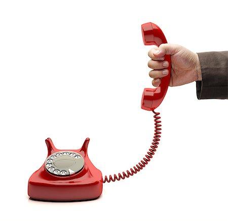 Telephone call. Stock Photo - Premium Royalty-Free, Code: 679-06781033