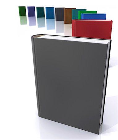 education concept - Books, computer artwork. Stock Photo - Premium Royalty-Free, Code: 679-06781089