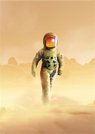 Mars exploration, computer artwork. Stock Photo - Premium Royalty-Free, Code: 679-06781152