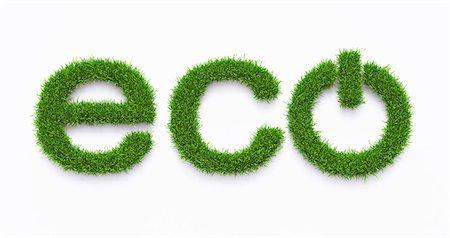 Green energy, computer artwork. Stock Photo - Premium Royalty-Free, Code: 679-06781165