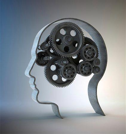 Consciousness, conceptual computer artwork. Stock Photo - Premium Royalty-Free, Code: 679-06781174