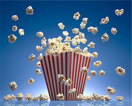 entry field - Popcorn, computer artwork. Stock Photo - Premium Royalty-Free, Code: 679-07151341