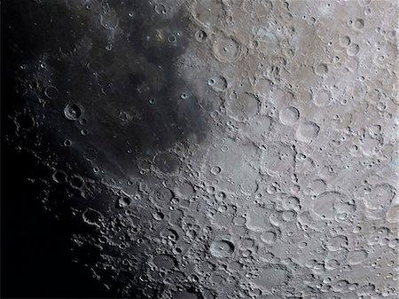 space - Moon, computer artwork. Stock Photo - Premium Royalty-Free, Code: 679-07604246