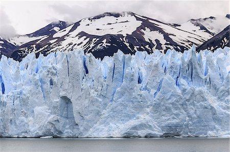 perito moreno glacier - Perito Moreno Glacier. View of the Perito Moreno Glacier, Los Glaciares National Park, Santa Cruz Province, Patagonia, Argentina. Stock Photo - Premium Royalty-Free, Code: 679-07607860