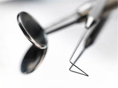 dentistry - Dental instruments, studio shot. Stock Photo - Premium Royalty-Free, Code: 679-07607949