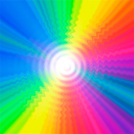 Prismatic pattern, computer artwork. Stock Photo - Premium Royalty-Free, Code: 679-07763544