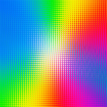 rainbow - Prismatic pattern, computer artwork. Stock Photo - Premium Royalty-Free, Code: 679-07763542
