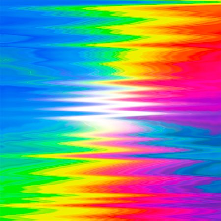 Prismatic pattern, computer artwork. Stock Photo - Premium Royalty-Free, Code: 679-07763543