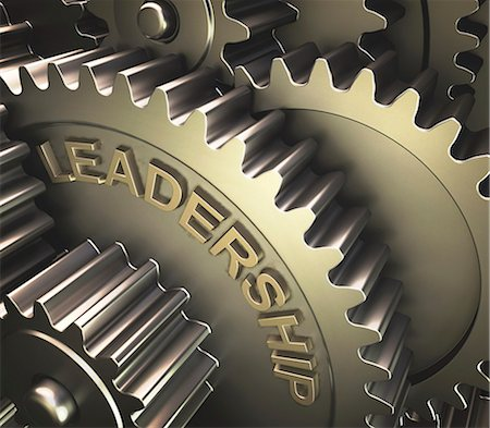 Gears with the word 'leadership', computer illustration. Stock Photo - Premium Royalty-Free, Code: 679-08228364