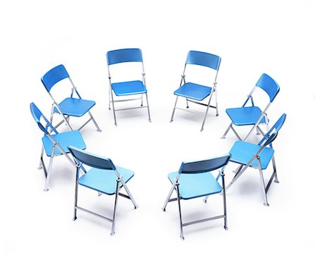 empty - Circle of chairs. Photographie de stock - Premium Libres de Droits, Code: 679-08718342