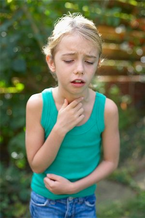poison - Girl coughing Stock Photo - Premium Royalty-Free, Code: 679-02994979