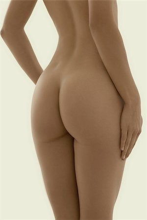 female nude hip - Woman's buttocks Stock Photo - Premium Royalty-Free, Code: 679-02995574