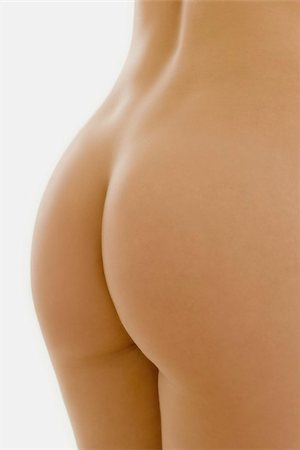 female nude hip - Woman's buttocks Stock Photo - Premium Royalty-Free, Code: 679-02995572