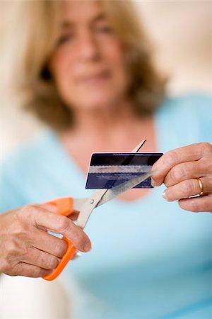 Credit card debt Stock Photo - Premium Royalty-Free, Code: 679-02995808