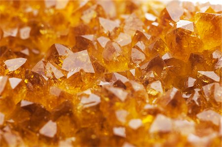 Citrine crystals from Brazil. Stock Photo - Premium Royalty-Free, Code: 679-03679949