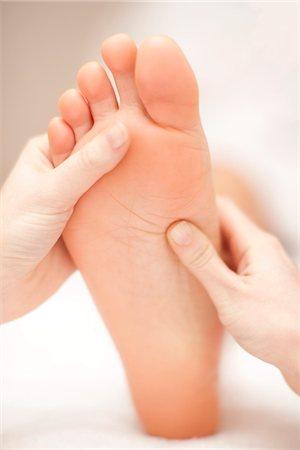 foot massage - Reflexology. Stock Photo - Premium Royalty-Free, Code: 679-03680219