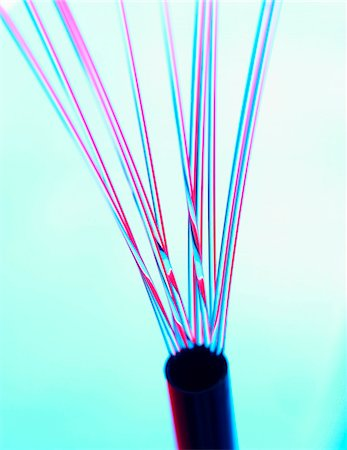 fibre optic - Fibre optics. Stock Photo - Premium Royalty-Free, Code: 679-03680238