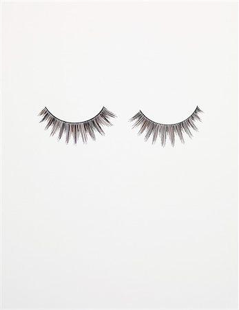 pair - False eyelashes. Stock Photo - Premium Royalty-Free, Code: 679-03680890