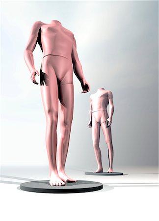 Spare body parts, conceptual computer artwork. Stock Photo - Premium Royalty-Free, Code: 679-03681241