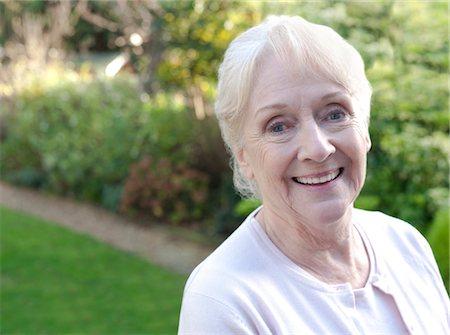 Happy senior woman. Stock Photo - Premium Royalty-Free, Code: 679-03681703