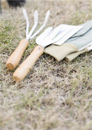 Gardener's tools Stock Photo - Premium Royalty-Free, Code: 670-04249393