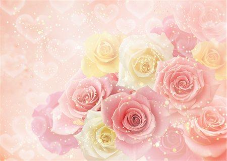 flower graphic - Saint Valentine's Day Stock Photo - Premium Royalty-Free, Code: 670-05652455
