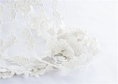 femininity - Lace and a ring Stock Photo - Premium Royalty-Free, Code: 670-06450357