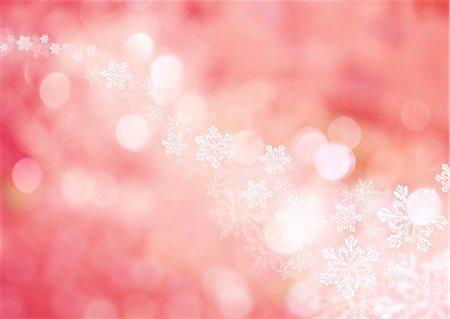 Snow crystal, CG Stock Photo - Premium Royalty-Free, Code: 670-06451575