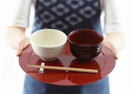 Japanese traditional style dishe Stock Photo - Premium Royalty-Free, Code: 670-02109924