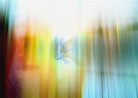 refraction - Light Image (CG) Stock Photo - Premium Royalty-Free, Code: 670-02111183