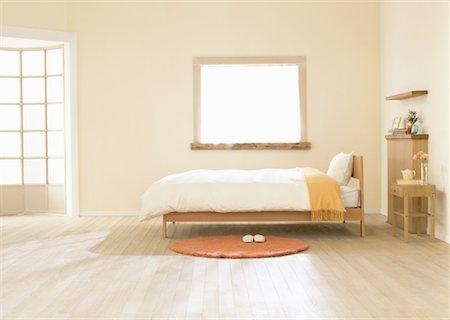 Bedroom Stock Photo - Premium Royalty-Free, Code: 670-02309813
