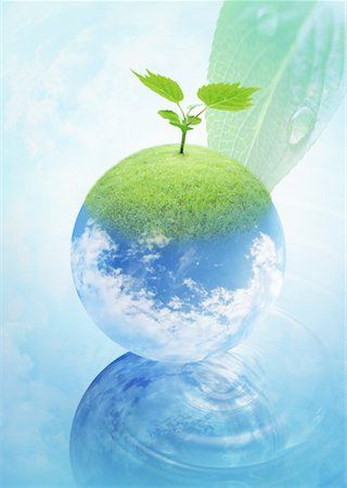 Ecology image Stock Photo - Premium Royalty-Free, Code: 670-02310825