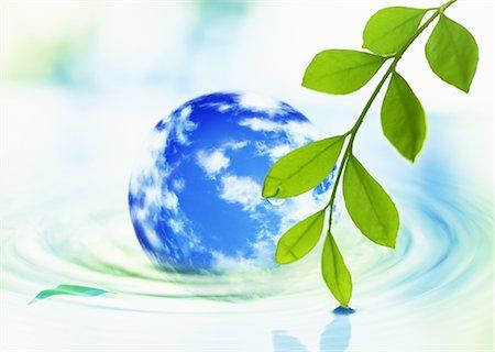 Image of earth Stock Photo - Premium Royalty-Free, Code: 670-02310834