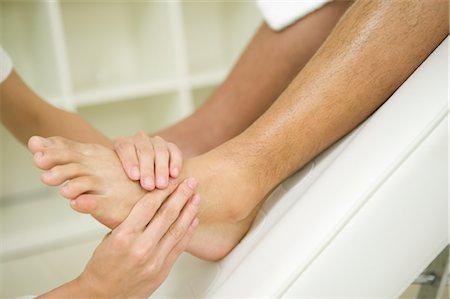 foot massage - Foot massage Stock Photo - Premium Royalty-Free, Code: 685-03081855