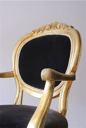 Detail of an antique chair Stock Photo - Premium Royalty-Free, Code: 689-05610665