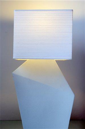 White lamp Stock Photo - Premium Royalty-Free, Code: 689-05610672