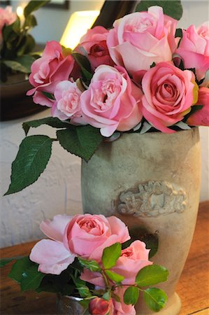 rose - Bunch of pink roses Stock Photo - Premium Royalty-Free, Code: 689-05611358