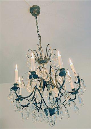 Elegant chandelier Stock Photo - Premium Royalty-Free, Code: 689-05612222