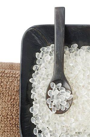 Bath salt and spoon Stock Photo - Premium Royalty-Free, Code: 689-03129620