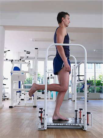 rehabilitation - workout Stock Photo - Premium Royalty-Free, Code: 689-03130606