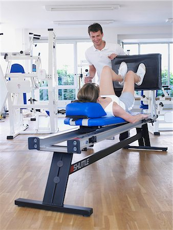 rehabilitation - workout Stock Photo - Premium Royalty-Free, Code: 689-03130603