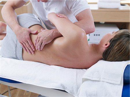 rehabilitation - medical massage Stock Photo - Premium Royalty-Free, Code: 689-03130620