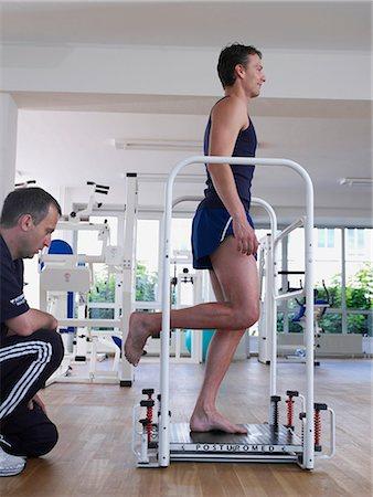rehabilitation - Posturomed Stock Photo - Premium Royalty-Free, Code: 689-03131232