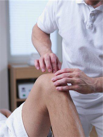 rehabilitation - medical massage Stock Photo - Premium Royalty-Free, Code: 689-03131245