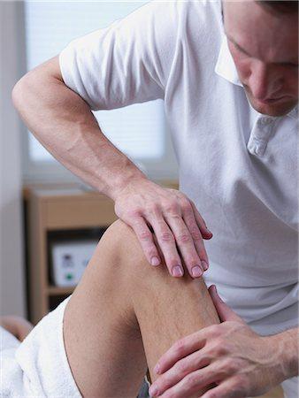 rehabilitation - physical therapist Stock Photo - Premium Royalty-Free, Code: 689-03131246